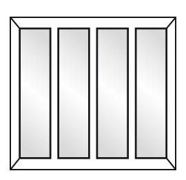 Fen tres pvc vente de menuiseries pvc sur mesure for Fenetre trois vantaux
