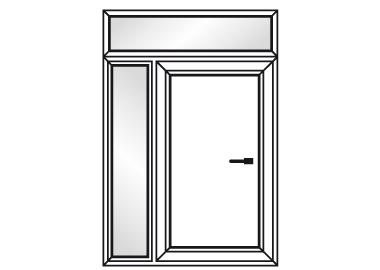 portes d 39 entr e pvc vente de menuiseries pvc sur mesure. Black Bedroom Furniture Sets. Home Design Ideas