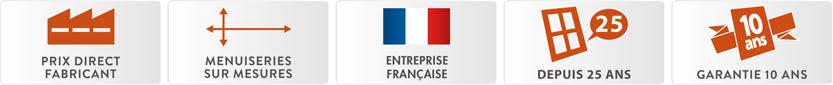 Prix Direct Fabricant | Menuiseries sur-mesures | Fabricant Français | 20 ans d'expérience | Garantie 10 ans | elite-menuiseries.com | Vente menuiseries PVC